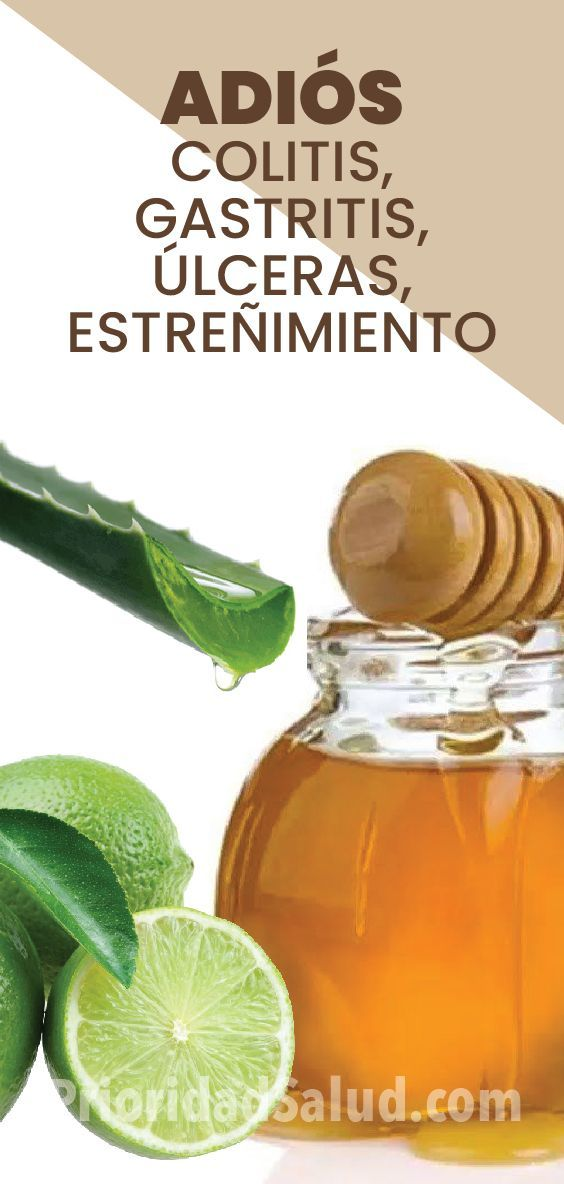 medicina naturista para la colitis y gastritis