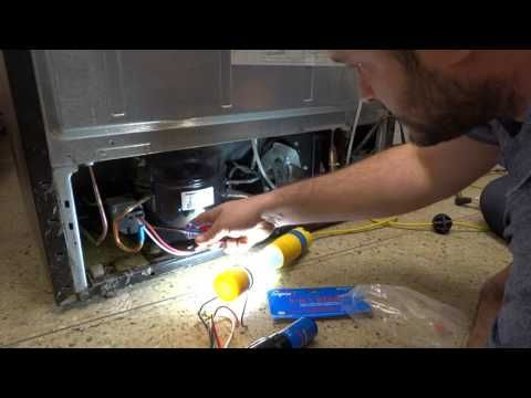 Kenmore Refrigerator Not Cooling At All Compressor Youtube