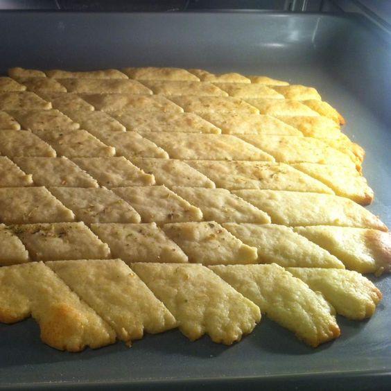 Rezept Parmesan-Cracker von Moichido - Rezept der Kategorie Backen herzhaft