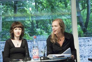 Gegen die Strömung - Neue Lyrik aus Polen - Katarzyna Fetlinska und Karolina Golimowska (c) Mike Schmidt