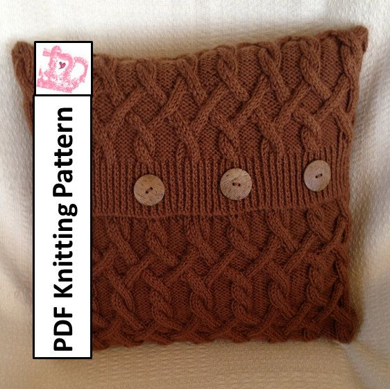 Knitting Pattern Central Pillows : Pinterest   The world s catalog of ideas