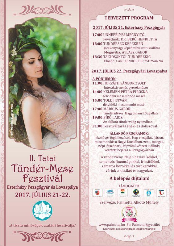 II. Tatai Tündér-Mese Fesztivál plakát