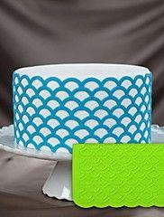 motif damassé silicone onlay moule fondant pâte de gomme gâteau décoration 3d outils gâteau au pochoir gâteau en silicone moule décoration