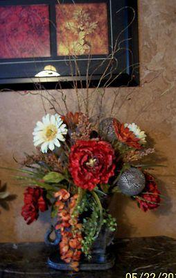 Custom floral arrangements for your home