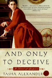 And Only to Deceive by Tasha Alexander – BookBub Deals