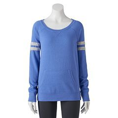 Juniors' SO® Pocket Long Sleeve Football Tee