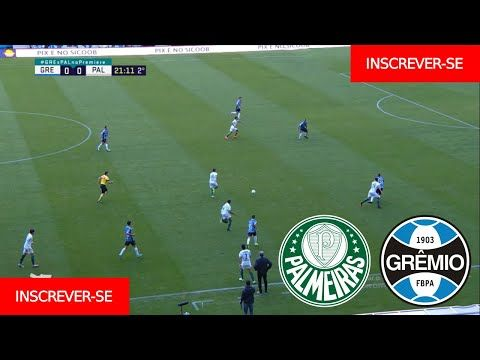 Palmeiras X Gremio Ao Vivo Campeonato Brasileiro 30ª Rodada Narracao Em 2021 Campeonato Brasileiro Palmeiras Gremio
