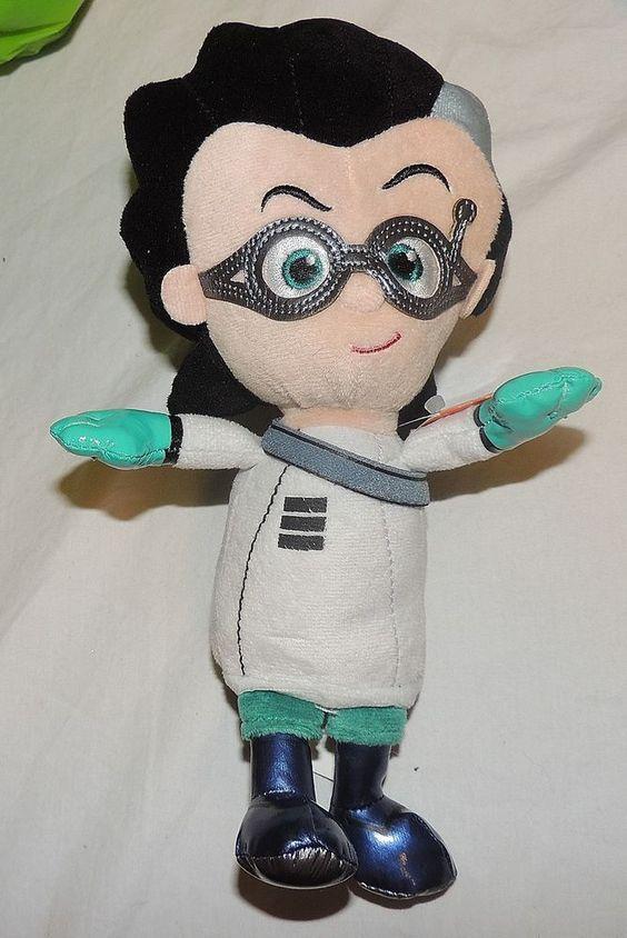 New PJ Masks Plush Toy Stuffed Animal Disney Junior Romeo villain scientist…