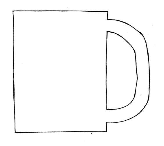 winter crafts print your mug template at templates pinterest winter. Black Bedroom Furniture Sets. Home Design Ideas