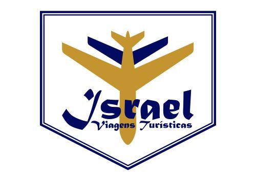Logotipo da Israel Viagens Inesquecíveis, empresa que faz viagens turísticas a Israel.