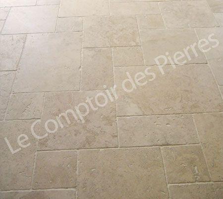 Dallage en pierre de Bourgogne Chancillac Idées pour la maison - carrelage en pierre naturelle salle de bain
