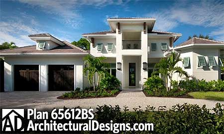 Southern, Florida, Luxury, Premium Collection, European, Photo Gallery House Plans & Home Designs.