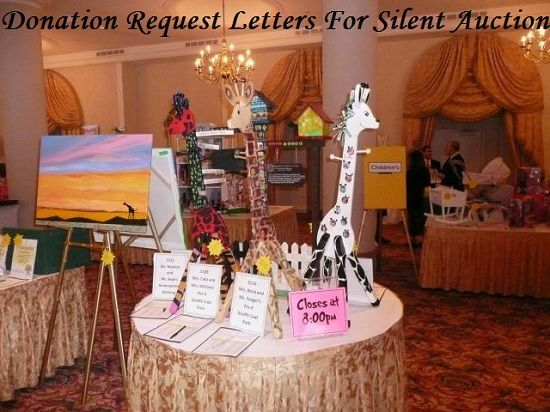 If you want to raise more money with silent auctions at your fundraiser, then use these sample donation request letters for silent auction items.