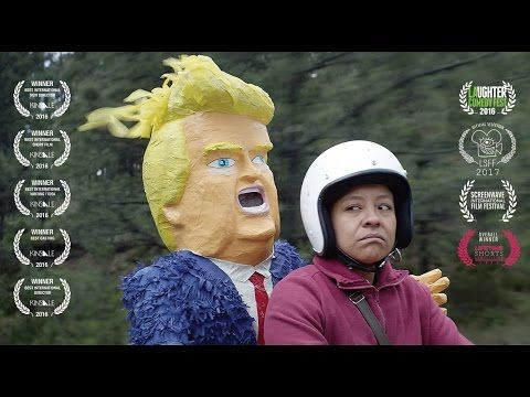 Debut director nabs 5 awards for her short film on hunt for a Trump piñata – Women in the World in Association with The New York Times – WITW