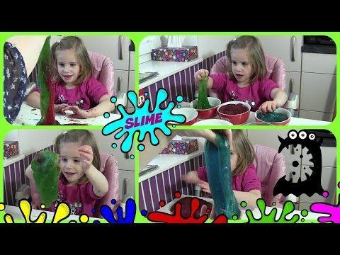 Glibber Schleim selber machen in eurer Wunschfarbe   DIY Slime Ooze - YouTube