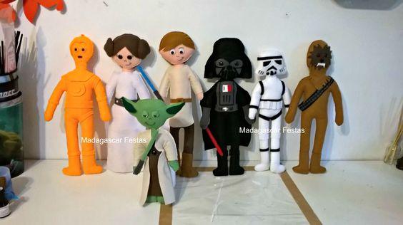 Star Wars em feltro