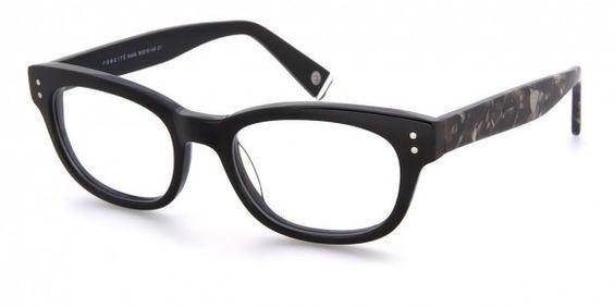 Foncité Rubik Black & Tortoise Shell - Mens Prescription Glasses #eyewear #eyeglasses