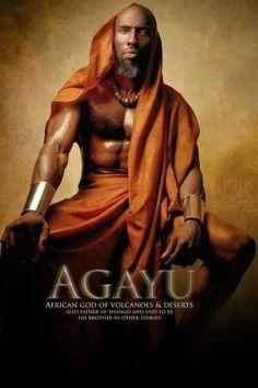 Aganju: Deus dos vulcões e desertos, também pai de Xangô