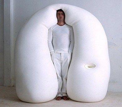 Lit gonflable pour dormir debout