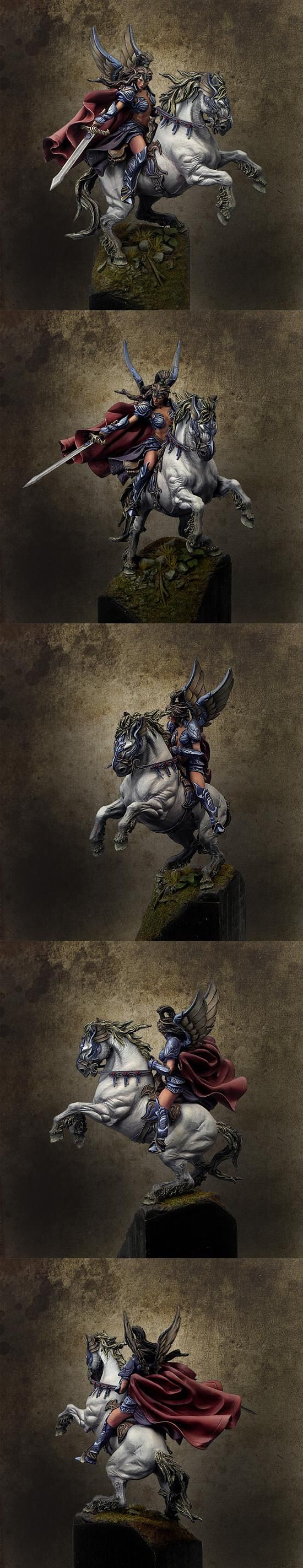 Cloak, Female, Non-Metallic Metal, Rider