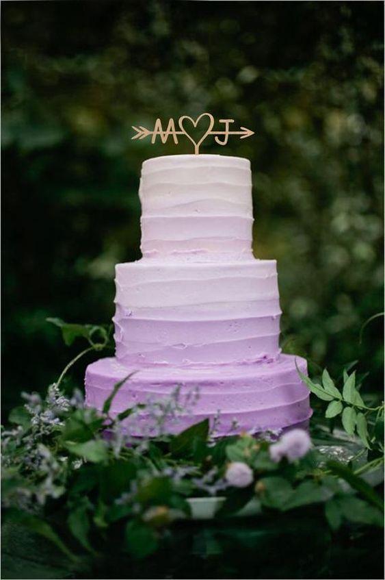 Wedding cake topper Arrow cake topper Initial cake topper Engagement cake topper Rustic cake topper