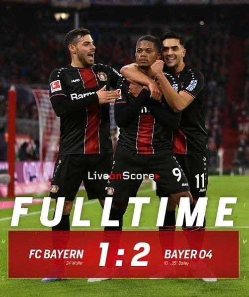 Bayern Munich 1 2 Bayer Leverkusen Full Highlight Video Bundesliga Allsportsnews Bundesliga Football Highlightvid Bayern Match Highlights Bayern Munich