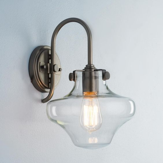 Round Globe Wall Lights : Sconces, Wall sconces and Globes on Pinterest