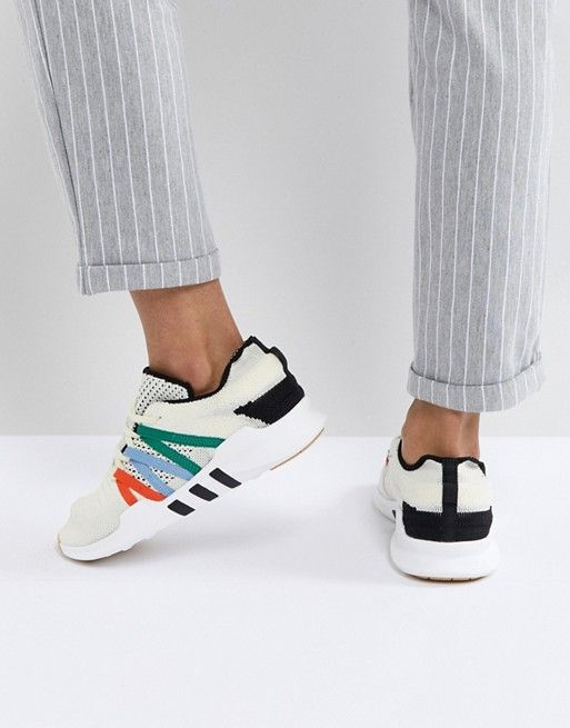 adidas Originals EQT Racing Adv Sneakers In Off White in