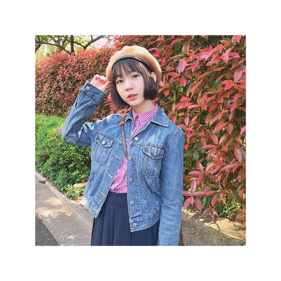 秋コーデの神﨑風花