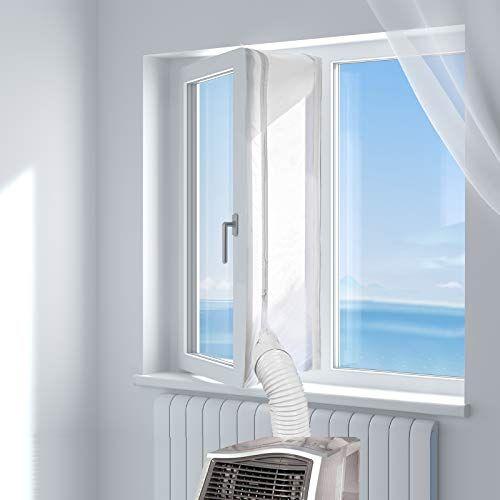 Hoomee Cubierta De Tela Aislante Para Puertas Y Ventanas Para Maquinas De Aire Acondicionado Portatiles Aire Acondicionado De Ventana Acondicionado Aislante