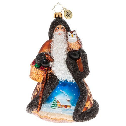 The Woodlands Christmas 2020 Christopher Radko Ornament   Heart Of The Woodlands Santa in 2020