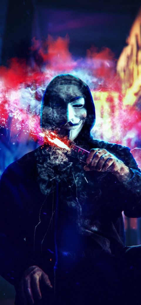 Anonymous Mask Man Wallpaper Hd 1080p 8 In 2020 Photography Wallpaper Cool Wallpapers For Phones Android Wallpaper