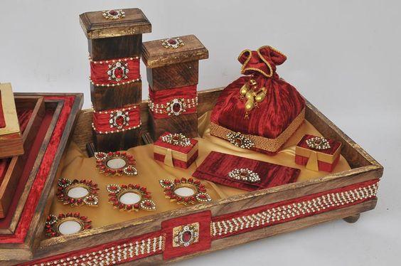 india trays gift wrapping wedding ring wrapping ux ui designer wedding ...
