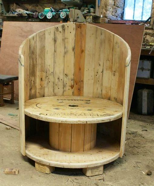 Möbel Aus Holz Kabeltrommeln: Diy holz wohnzimmermobel aus ...