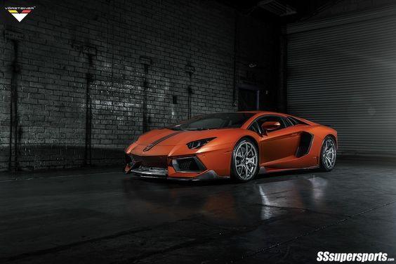 Lamborghini Aventador-V LP740-4 by Vorsteiner