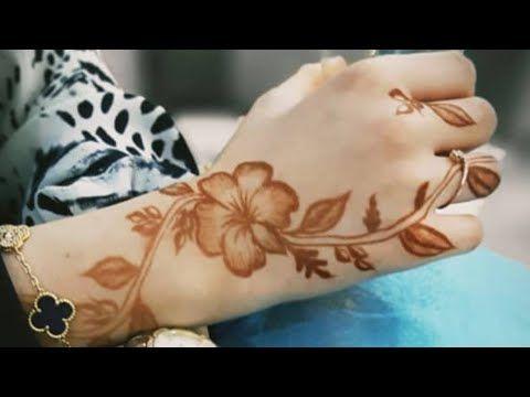 نقشات حناء خليجي Youtube Henna