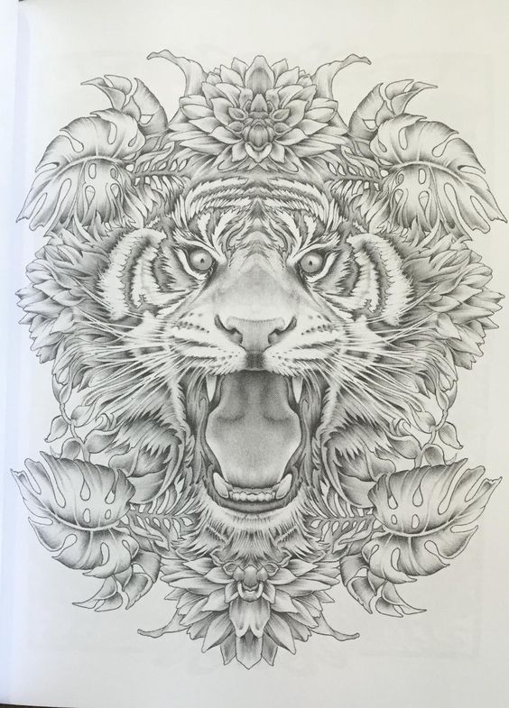 Colour my sketchbook 3 greyscale colouring book volume 1 for Bennett klein coloring pages