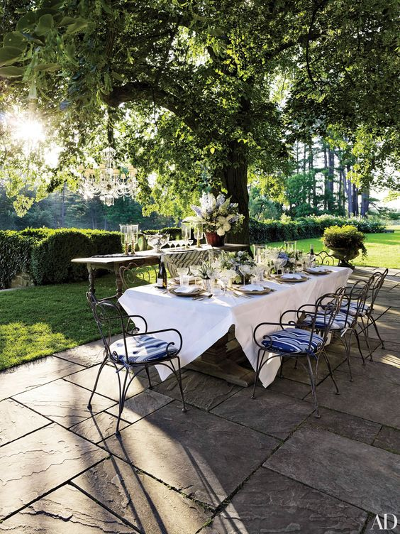 Outdoor Living and Patio Ideas Photos | Architectural Digest: