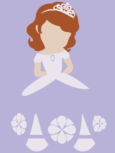 Sofia the First Art Print