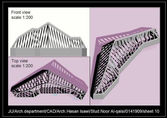 Noor Al-qaisiالرسم المعماري بالحاسوب/ computer architectural drawing: