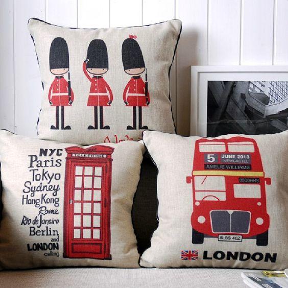decor office home lunches sofa throw cartoon flags china cushions sofa