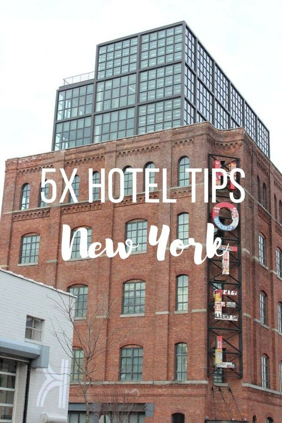 5x hotel tips in New York that stand out in design and are still affordable - Map of Joy, travel, world