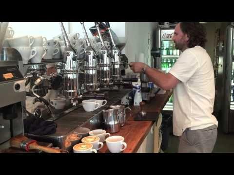 Barista Show Barista Latte Art Video Barista Training