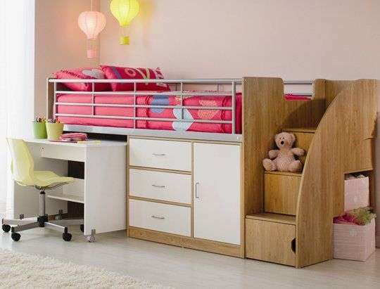 Take A Little Bit Of The Boredom Out Bedtime With Metz Single Mini Sleeper This Piece Is Crafted From Melamine Particle Board Handy Sp