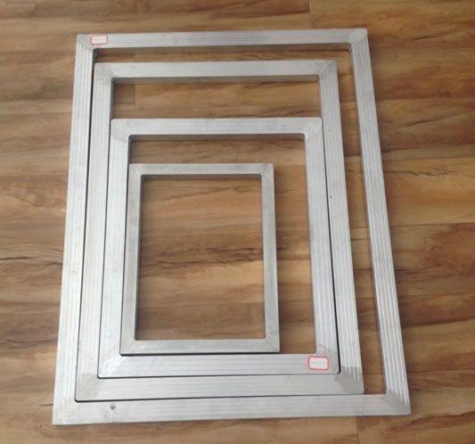 screen printer framematerial 6063 aluminum production process welding frame frame size