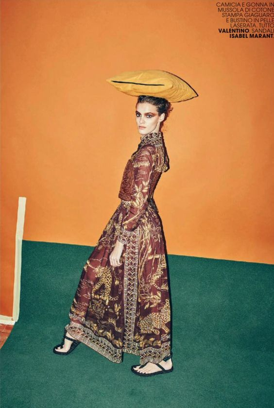 African Art by Arnaud Pyvka for Marie Claire Italy March 2016