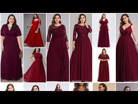 تشكيلة روعة من فساتين سهرة لونها احمر جذاب الجزء الثاني Youtube Dresses Wedding Dresses Bridal Dresses