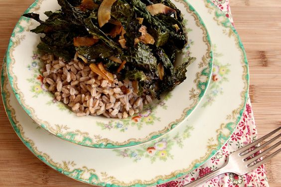 Crunchy Kale and Coconut Bowl