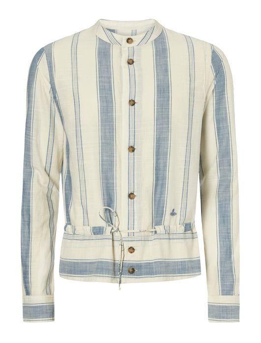 VIVIENNE WESTWOOD-white gipsy shirt