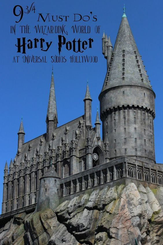 9 3/4 Things to Do in The Wizarding World Of Harry Potter. These are all can't miss activities in The Wizarding World of Harry Potter at Universal Studios Hollywood.